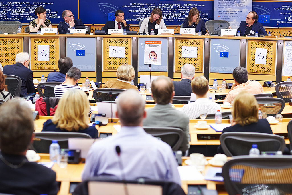 EFA Patients event at European Parliament