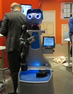 20150309 - Robot at Healthy Ageing Summit